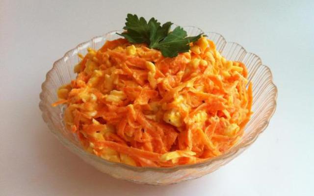 Морковь С Майонезом И Чесноком Для Похудения. Салат из моркови для похудения (рецепты)
